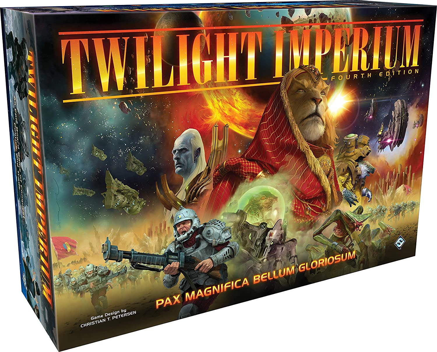 "Fantasy Flight Games ""TI07"" FFGTI07 Twilight Imperium 4th Edition Game"