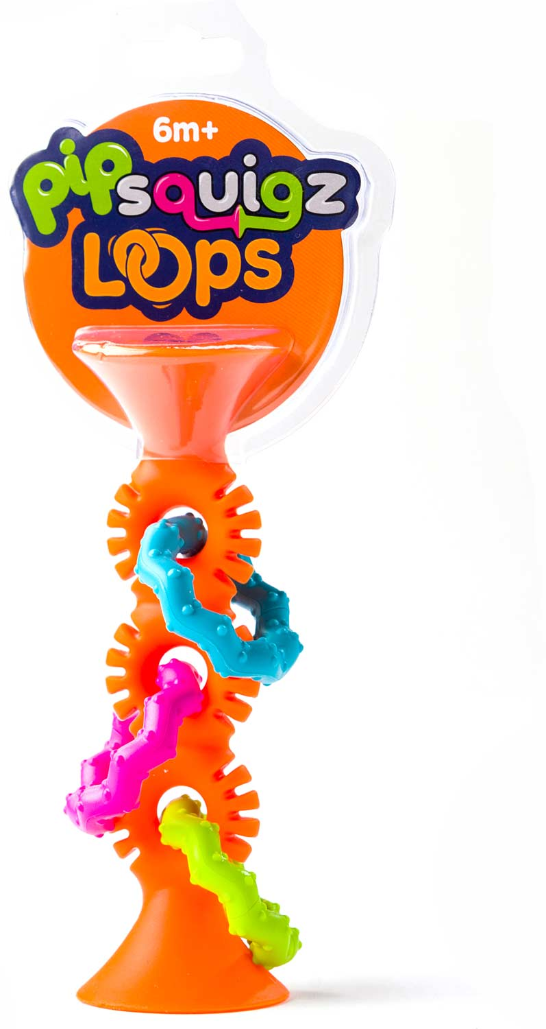 Fat Brain Toys PipSquigz Loops - Orange