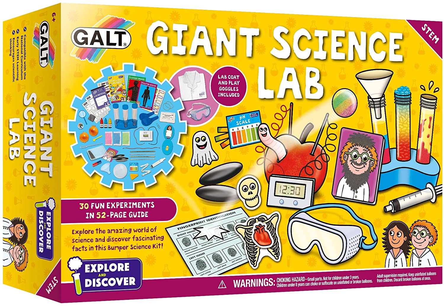 Galt Toys Giant Science Lab