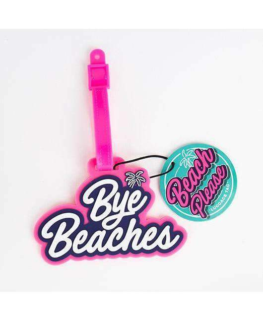 Beach Please - Luggage Tag Novelty