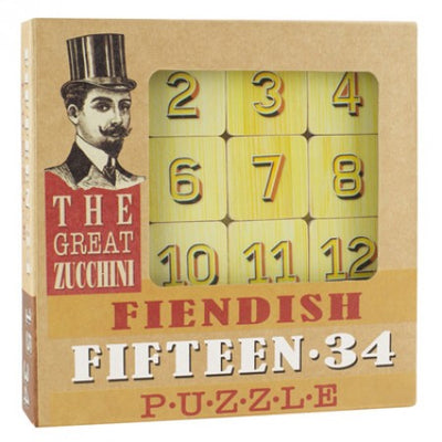 Great Zucchini Tile Puzzles (Fifteen.34)
