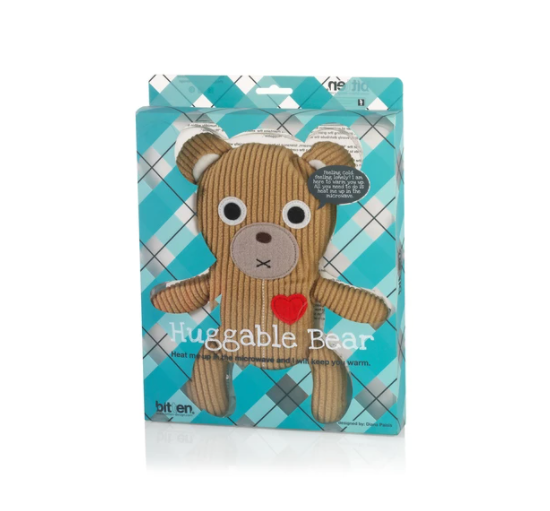 Huggable Snuggle Bear Light Brown