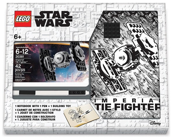 LEGO® Stationery Set - Tie Fighter