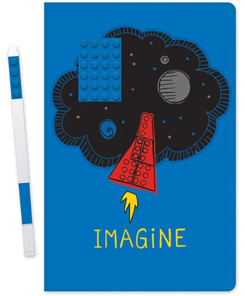 LEGO® Notebook - Imagine