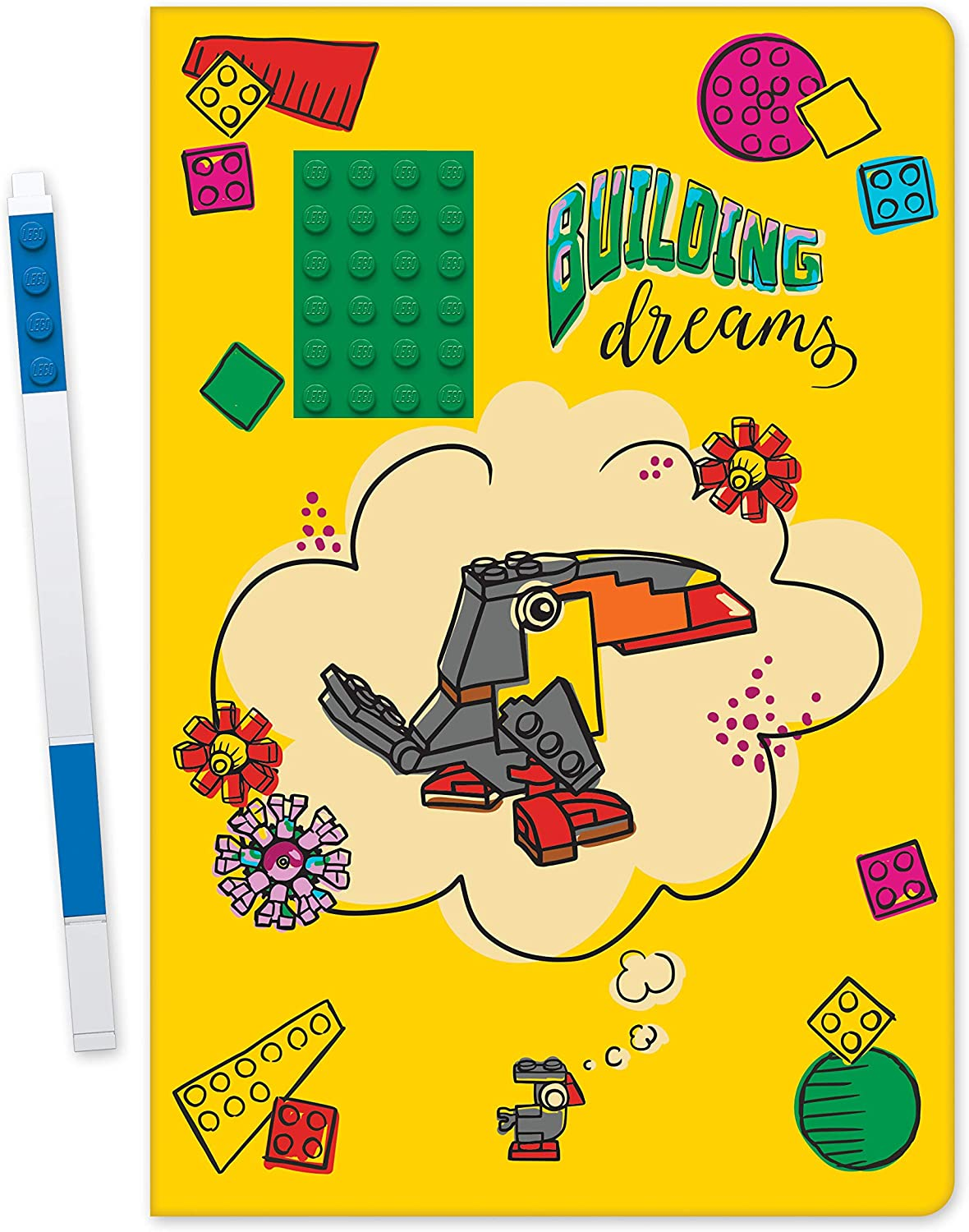 LEGO® Notebook - Building Dreams