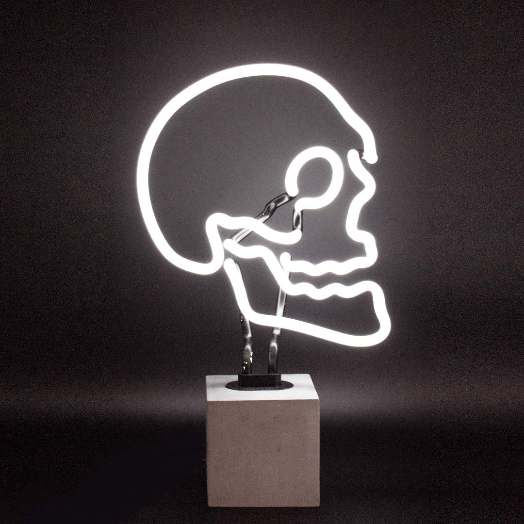 Locomocean Neon (Concrete Base) - Skull