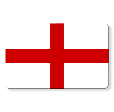 Myne Card Flags - St George's Cross - The Flag of England