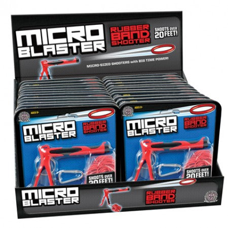 Cheatwell Games - Micro Blaster Rubber Band Shooter