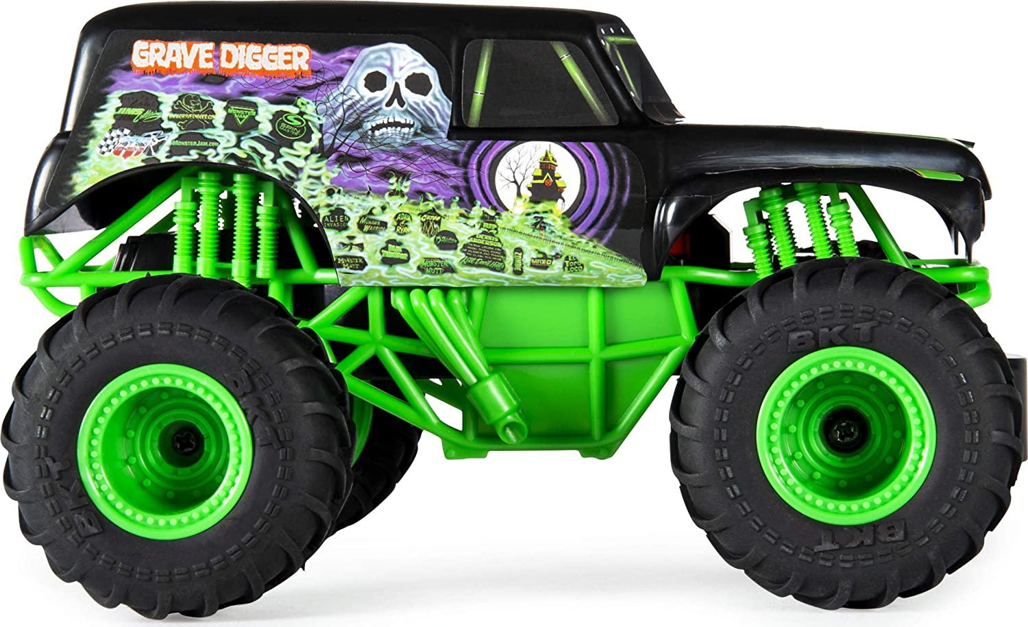 """Monster Jam RC - 1/24th Scale  Grave Digger"""