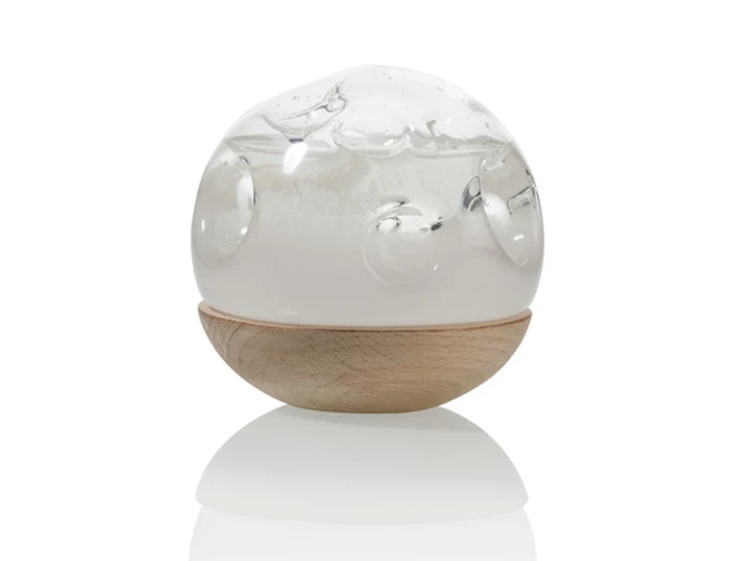 Moon Storm Glass Weather Predictor