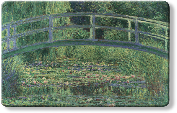 The National Gallery Myne Card - Water Lilly Pond