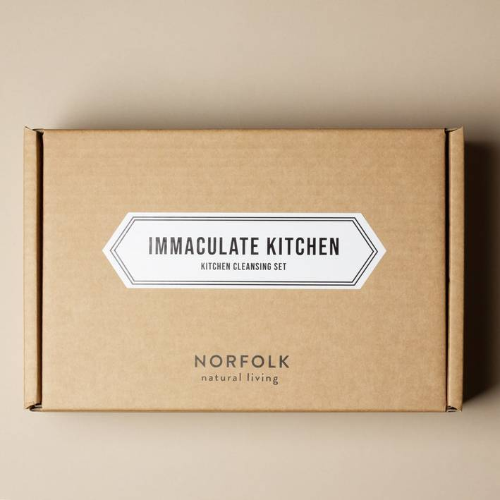 Norfolk Natural Living - Immaculate Kitchen - Gift Set - Sea Salt