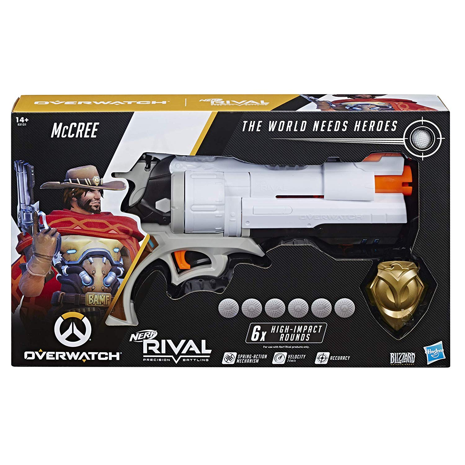 Nerf Overwatch McCree Nerf Rival Blaster