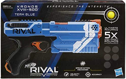 Nerf Rival Kronos XVIII 500 Assorted Blue or Red