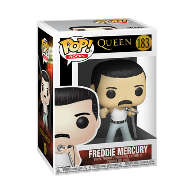POP Rocks: Queen - Freddie Mercury Radio Gaga 1985