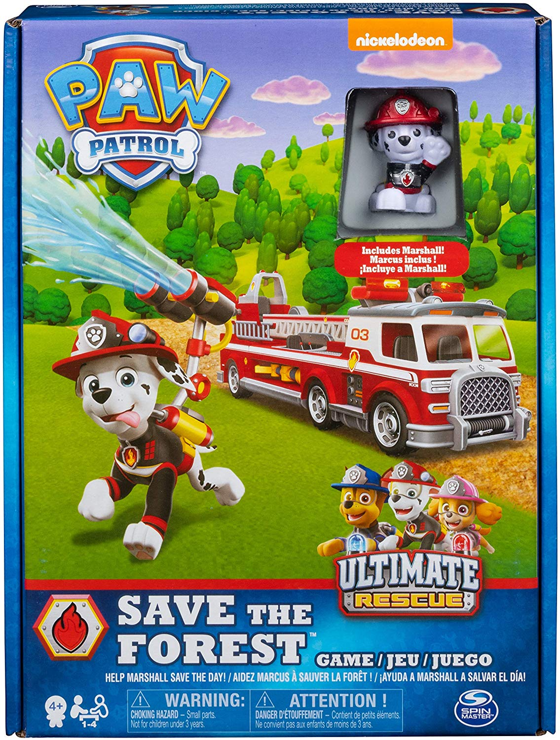 Paw Patrol Marshall's Ultimate Rescue Game