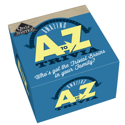 Cheatwell Games Quizmaster A - Z Trivia Game
