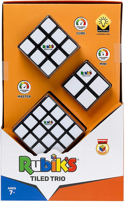 Rubik's Tiled Trio Gift Pack
