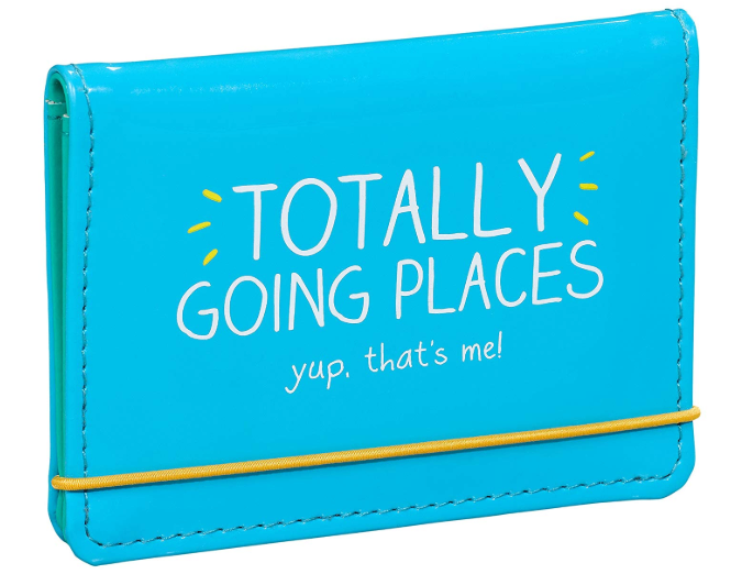 totally going places card holder