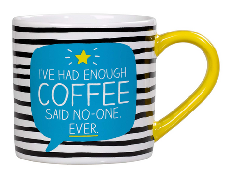 Mug - ive had enough coffee said no one ever