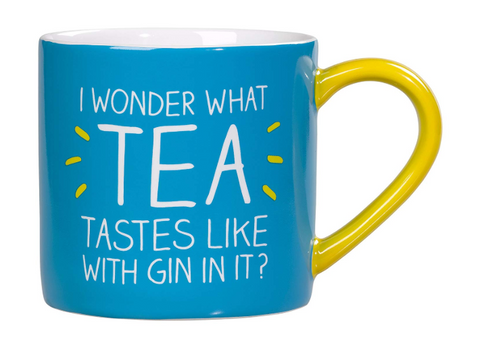 Mug - I wonder what tea looks like with gin in it