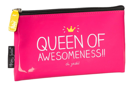 Queen of awesome pencil case