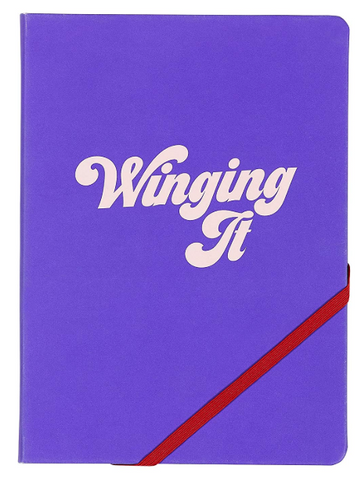 A5 notebook winging it