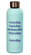 water bottle - Monday blink
