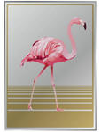 flamingo mirror