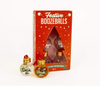 festive boozeballs - set of 6 fillable Christmas baubles