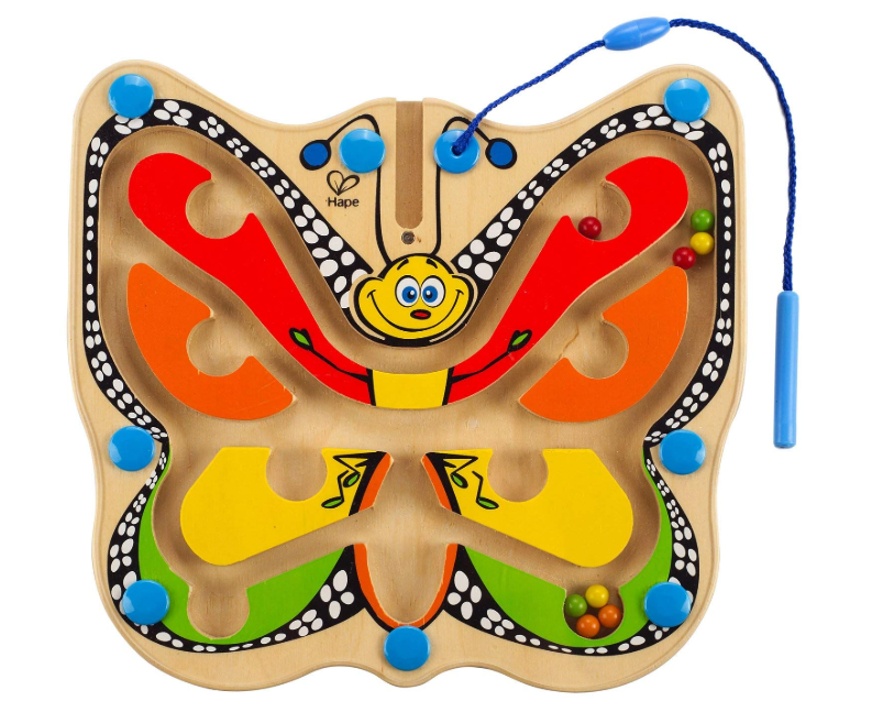 Hape colour flutter butterfly
