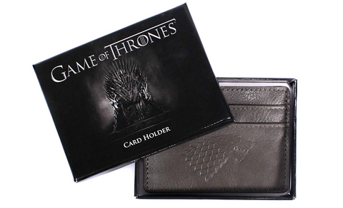 Card Holder - Game Of Thrones (Winter Is Coming)