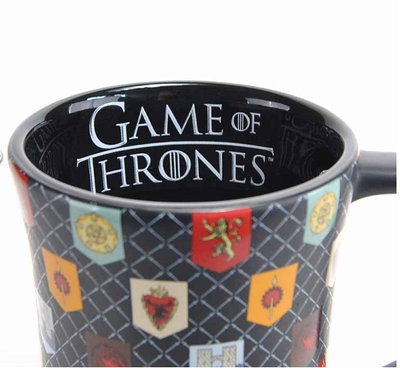 Small Tankard Mug - Game Of Thrones (Matt Glaze Sigils)