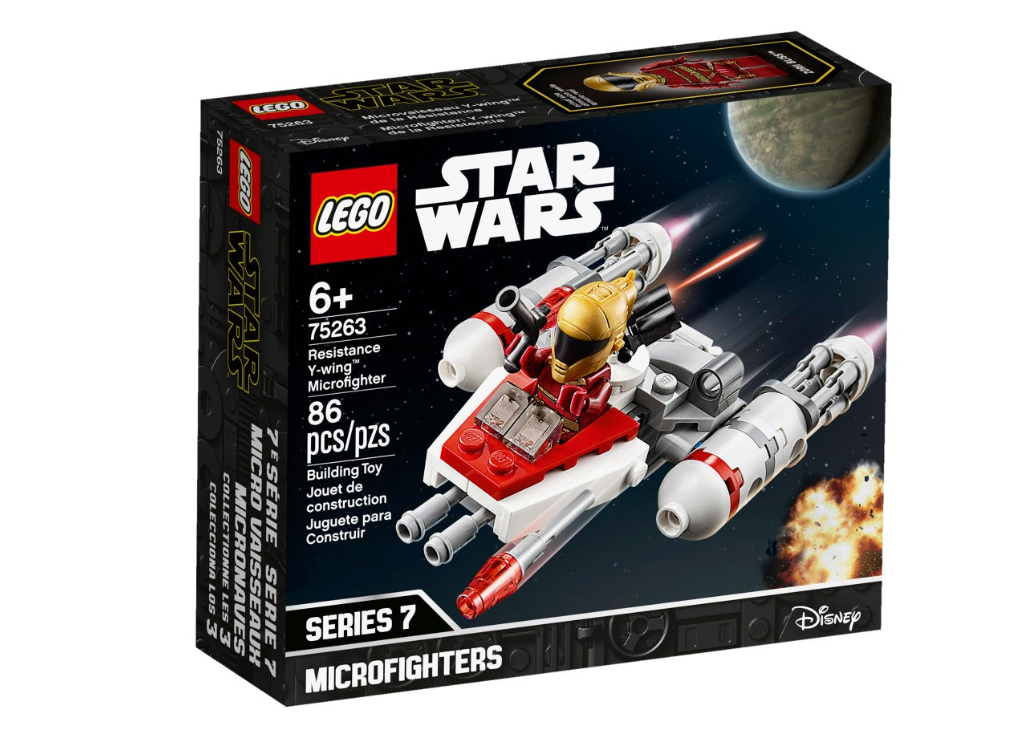 Lego Star Wars - Resistance Y-wing™ Microfighter