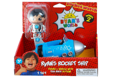 Ryan's World Figure & Vehicle - Series 2