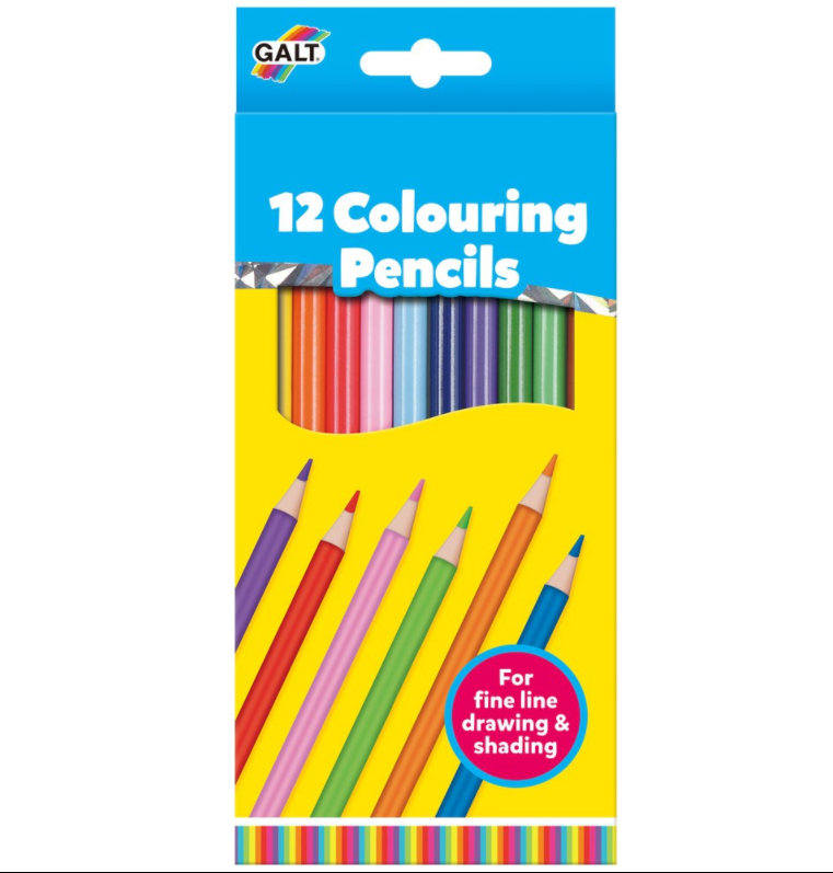 Colouring Pencils (12 Pieces)