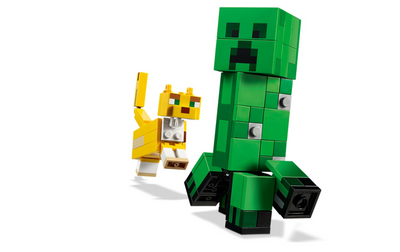Lego Minecraft - BigFig Creeper™ and Ocelot