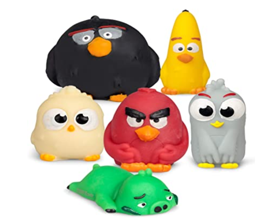 Tobar Angry Birds Squishy Buddies  Assorted