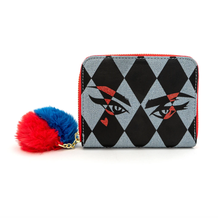 Birds of Prey Harley Eyes Zip Around Wallet