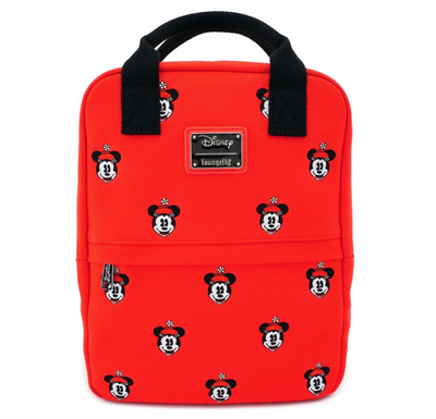 Positively Minnie AOP Canvas Embroidered Backpack