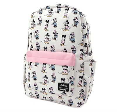 Pastel Minnie Mickey AOP Nylon Backpack