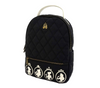Disney Princess Faux Leather Quilted Mini Backpack