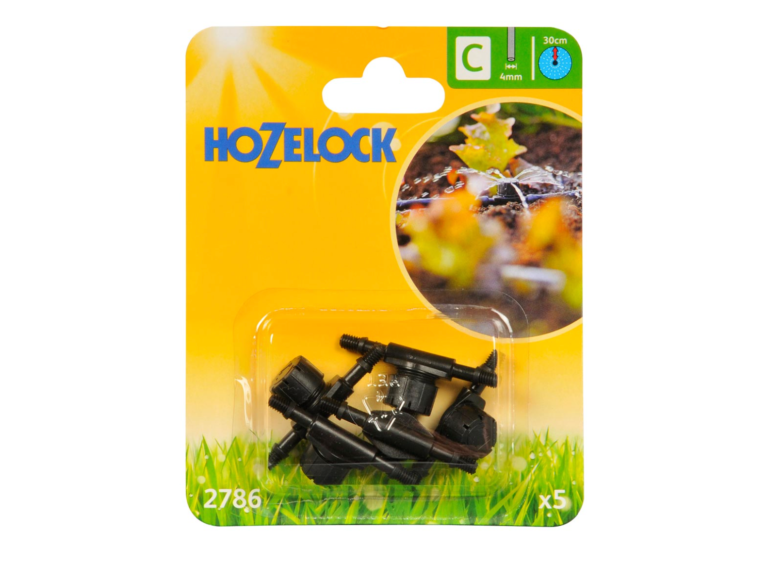 Hozelock - In Line Adjustable Mini Sprinkler
