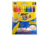 Bic Kids Plastidecor - Crayon - Pack of 12