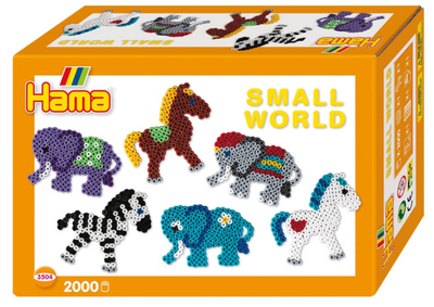 Hama Small World Elephant & Horse