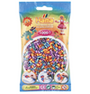 Hama 1,000 Beads in Bag Striped Mix 92