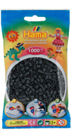 Hama Dark Grey - 1000 Beads in Bag