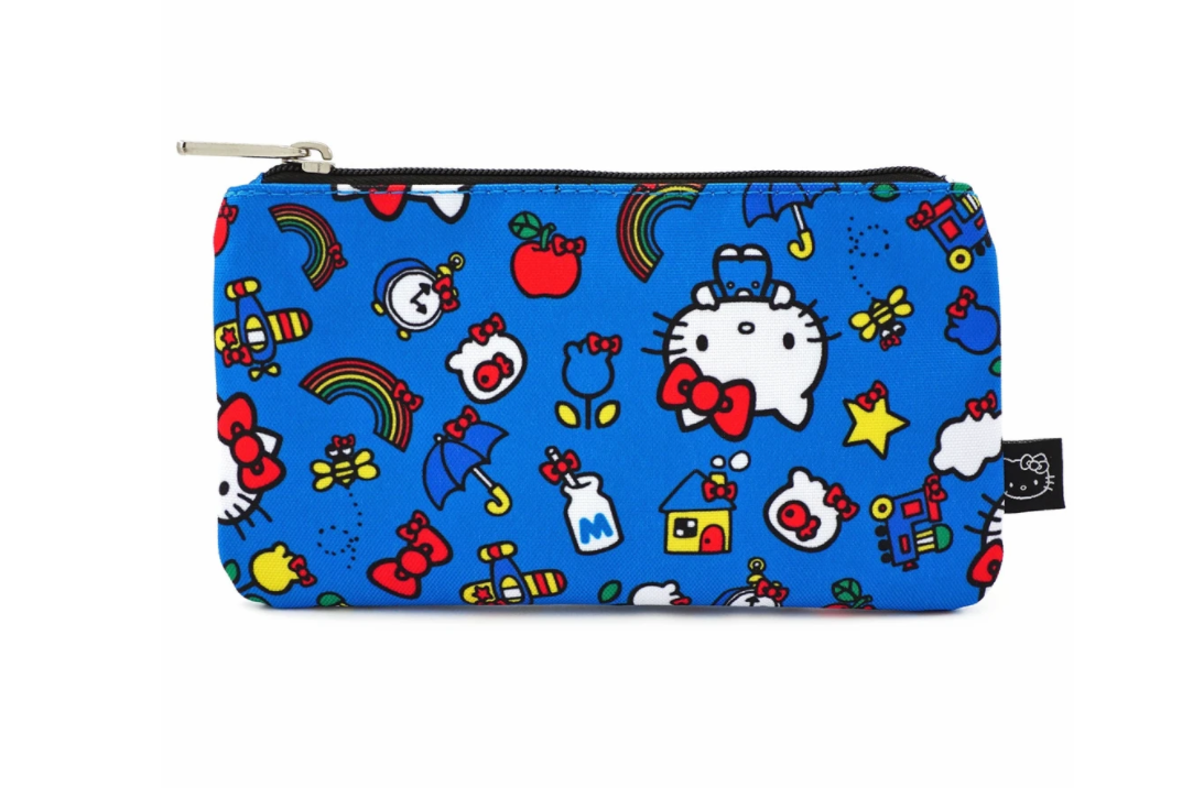 Hello Kitty 45th Anniversary AOP Nylon Pouch