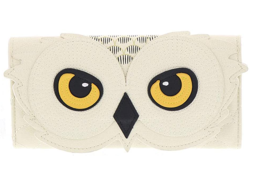 Harry Potter Hedwig Owl Tri-Fold Wallet