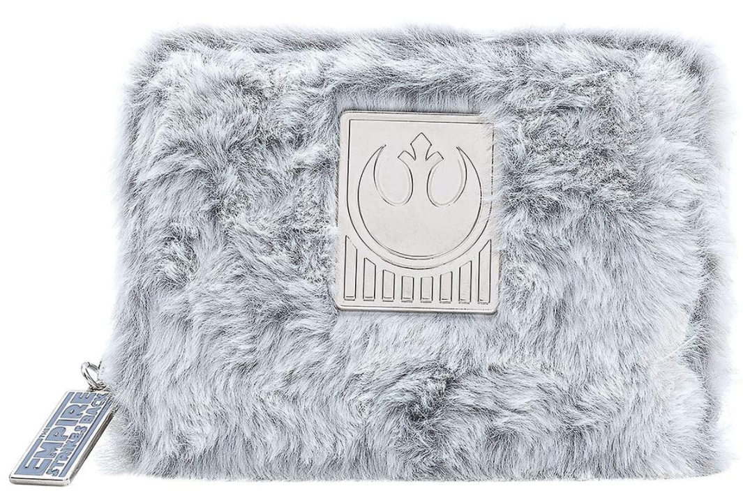 Star Wars Empire Strikes Back 40th Anniversary Hoth Sherpa Zip Around Wallet
